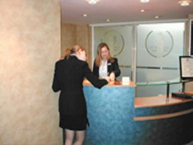 Executive offices London Borough High Street reception