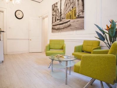 Flexible office space London Waiting Area