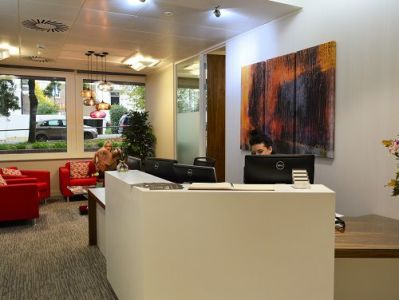 Office space for rent London Reception