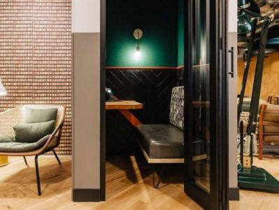 London serviced office space Phone Booths