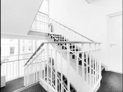 Office rental in London Staircase