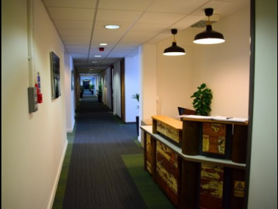 Offices in Central London Reception
