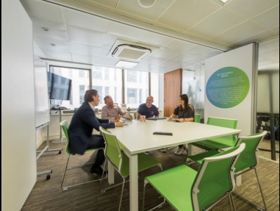 Office space in London meeting room