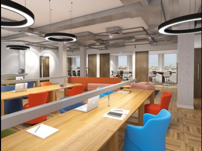 Serviced offices in London Interior
