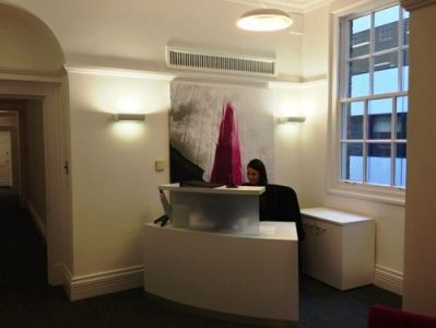 Space for rent in London Reception