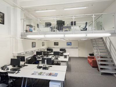 office space London open plan office