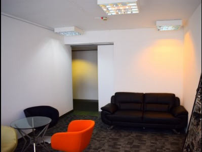 Offices in Central London Seating Area