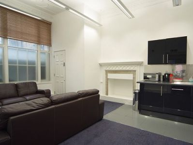 Serviced offices Central London Greek Street lounge area
