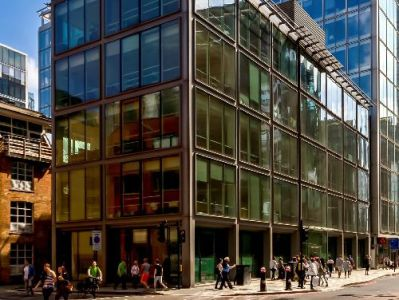 London offices to rent Bishopgate exterior