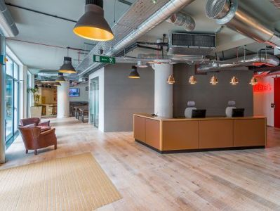 Office space Central London Reception