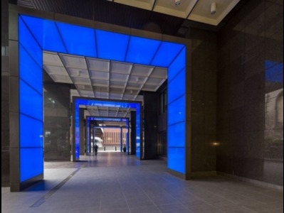 Offices to rent Central London Entrance