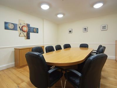 Managed office space London Poland Street meeting room