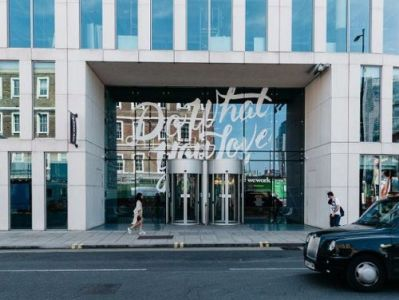 London serviced office space Entrance