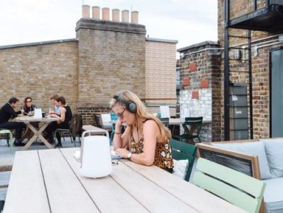 London serviced office space Roof Terrace