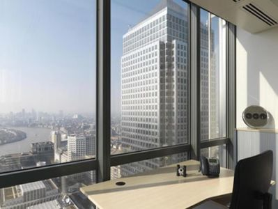 Canada Square office space London views