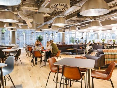 London serviced co-working work space