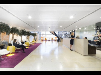 Office Space in Heron Tower Reception