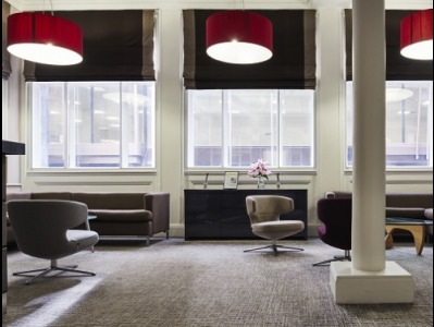 Clements Lane office to rent London Reception