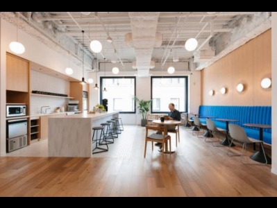 WeWork Cafe Space