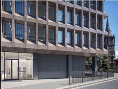 London serviced office in Aldgate exterior