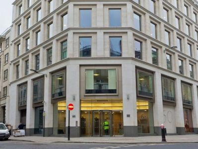 London offices to rent Gresham Street exterior