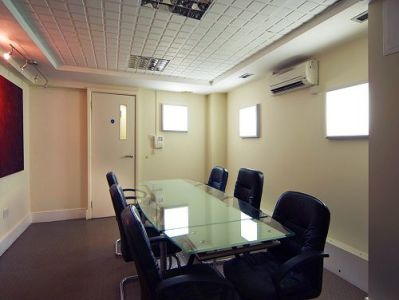 Serviced offices Central London Carlisle Street meeting room