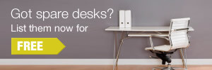 Got Spare Desks? List them now for Free